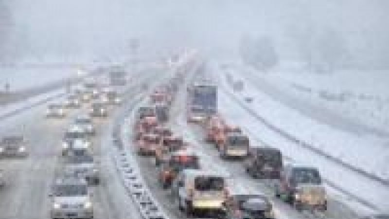 Nightmare conditions last week in Savoie