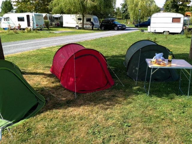 A record 113million holiday nights were spent under canvas on campsites in France in 2015