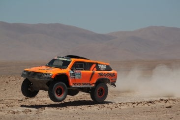 The Dakar Rally is a difficult and dangerous event