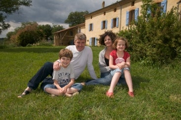 The Cooper children settled into their new life in France quickly, and were fluent within a year